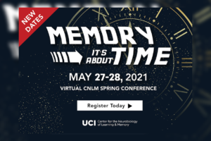 CNLM Virtual Spring Conference: Memory: It's About Time