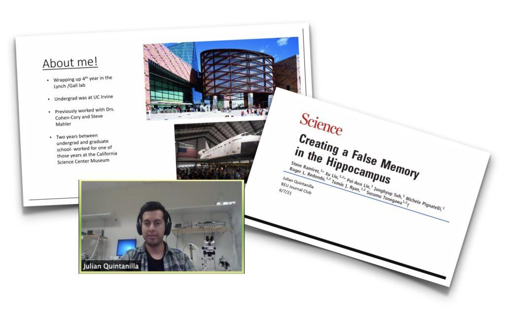 2021 Irvine Summer Institute in Neuroscience Journal Club