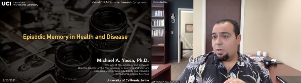 2021 Irvine Summer Institute in Neuroscience Yassa Keynote