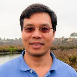 Chuansheng Chen, Ph.D Headshot Outside
